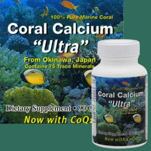 Coral Calcium Ultra with CoQ10